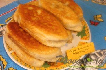 Постные жареные пирожки с луком и картофелем Шаг 17 (картинка)