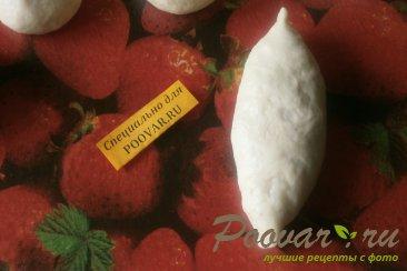Постные жареные пирожки с луком и картофелем Шаг 13 (картинка)