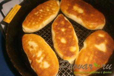 Постные жареные пирожки с луком и картофелем Шаг 16 (картинка)