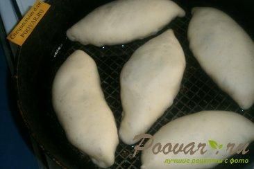 Постные жареные пирожки с луком и картофелем Шаг 15 (картинка)