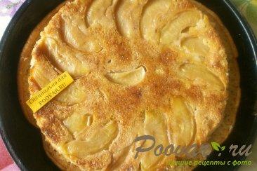 Постная шарлотка с яблоками Шаг 7 (картинка)