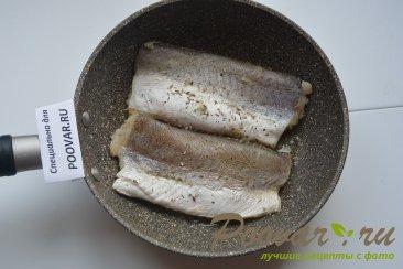 Жареная рыба на сковороде с замороженными овощами Шаг 3 (картинка)