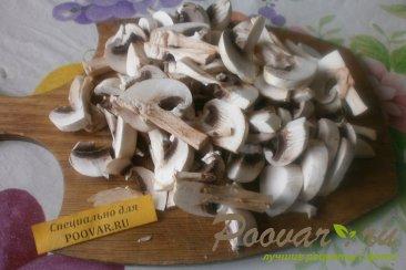 Салат из крабовых палочек с сыром и грибами Шаг 1 (картинка)