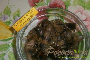 Салат из крабовых палочек с сыром и грибами Шаг 6 (картинка)