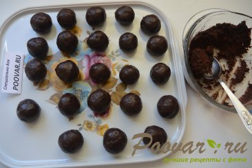 Треснутое шоколадное печенье - Crackied chocolate cookies Шаг 7 (картинка)