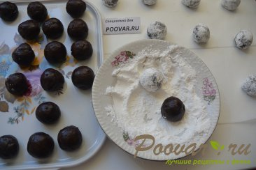 Треснутое шоколадное печенье - Crackied chocolate cookies Шаг 8 (картинка)