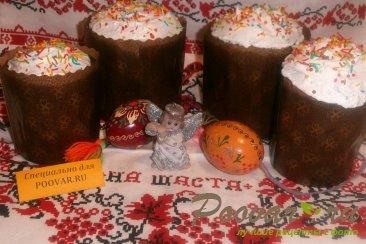Шоколадный кулич Шаг 13 (картинка)