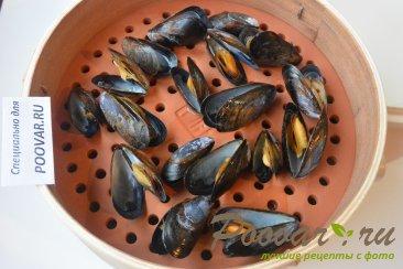 Как приготовить мидии в ракушках вкусно Шаг 6 (картинка)