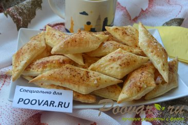 Печенье из домашнего слоеного теста Изображение