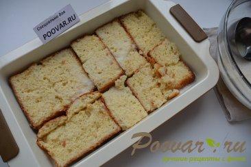 Шарлотка с яблоками из черствых куличей, сдобного хлеба Шаг 8 (картинка)