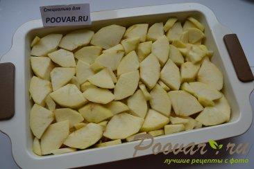 Шарлотка с яблоками из черствых куличей, сдобного хлеба Шаг 9 (картинка)
