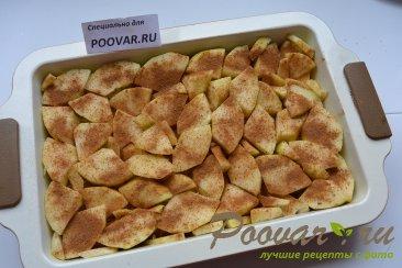 Шарлотка с яблоками из черствых куличей, сдобного хлеба Шаг 10 (картинка)