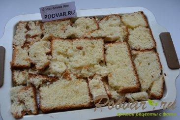 Шарлотка с яблоками из черствых куличей, сдобного хлеба Шаг 12 (картинка)