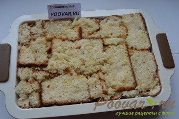 Шарлотка с яблоками из черствых куличей, сдобного хлеба Шаг 13 (картинка)