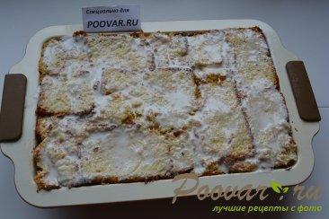 Шарлотка с яблоками из черствых куличей, сдобного хлеба Шаг 14 (картинка)