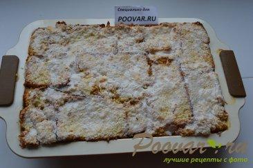 Шарлотка с яблоками из черствых куличей, сдобного хлеба Шаг 15 (картинка)