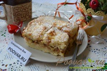 Шарлотка с яблоками из черствых куличей, сдобного хлеба Шаг 16 (картинка)