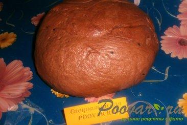 Шоколадное дрожжевое тесто Шаг 5 (картинка)