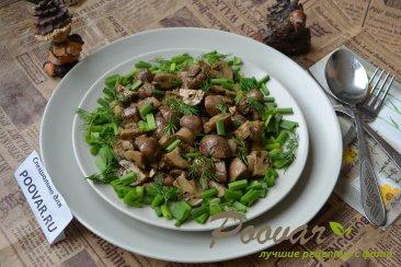 Маринованные грибы шампиньоны за 20 минут Изображение