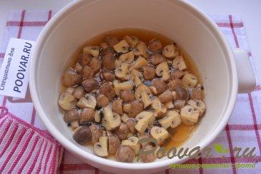 Маринованные грибы шампиньоны за 20 минут Шаг 5 (картинка)