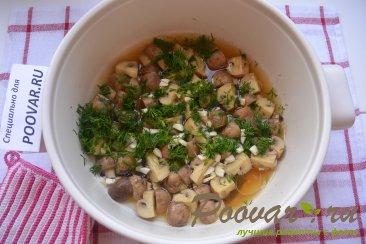 Маринованные грибы шампиньоны за 20 минут Шаг 7 (картинка)