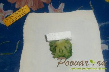 Брокколи с сыром в тесте Шаг 7 (картинка)
