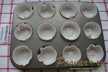 Кофейно-шоколадные маффины с клюквой Шаг 7 (картинка)