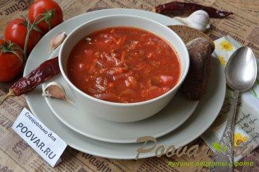 постный борщ рецепт с капустой