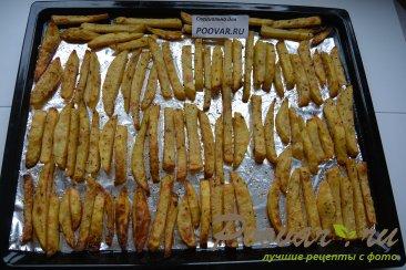 Картофель фри в духовке Шаг 4 (картинка)