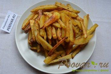 Картофель фри в духовке Шаг 5 (картинка)