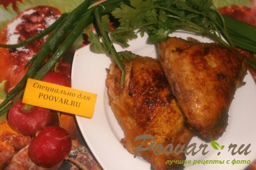 Куриные бёдрышки в горчично-медовом соусе Шаг 6 (картинка)