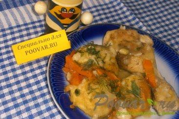 Полтавские галушки с куриной подливкой Изображение