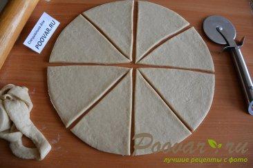 Пирожки и рулет из творожного теста Шаг 9 (картинка)