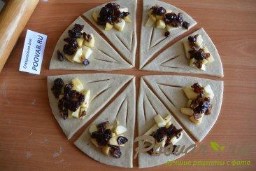 Пирожки и рулет из творожного теста Шаг 11 (картинка)