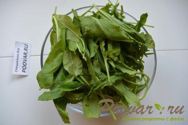 Зеленый борщ со щавелем и крапивой Шаг 7 (картинка)