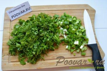Зеленый борщ со щавелем и крапивой Шаг 9 (картинка)