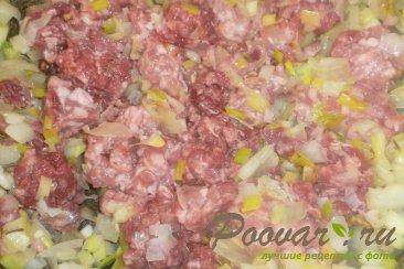 Немецкий капустный пирог с мясом Шаг 3 (картинка)