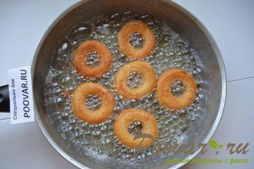 Хворост и пончики из творожного теста Шаг 8 (картинка)