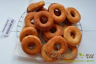 Хворост и пончики из творожного теста Шаг 9 (картинка)