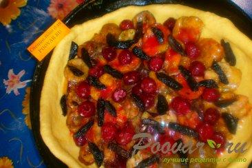 Сливовый пирог с черносливом Шаг 12 (картинка)