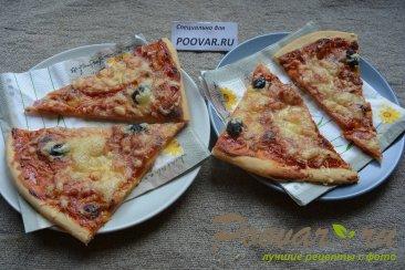 Быстрая пицца в духовке Изображение