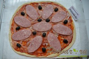 Быстрая пицца в духовке Шаг 6 (картинка)