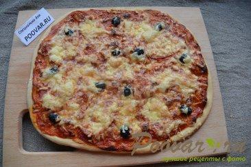 Быстрая пицца в духовке Шаг 8 (картинка)