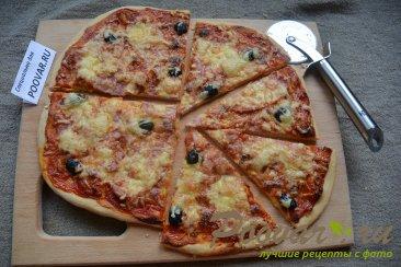 Быстрая пицца в духовке Шаг 9 (картинка)