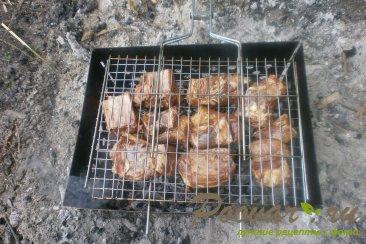 Свиные рёбрышки на мангале Шаг 8 (картинка)