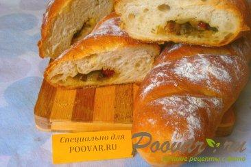 Багет с луком и вялеными помидорами Шаг 20 (картинка)