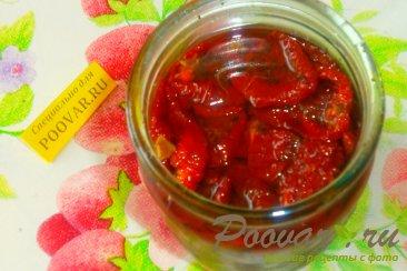 Багет с луком и вялеными помидорами Шаг 7 (картинка)