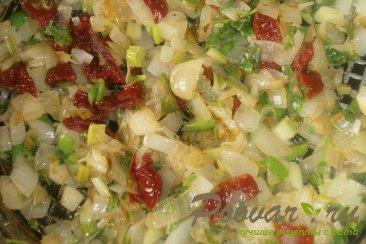 Багет с луком и вялеными помидорами Шаг 9 (картинка)