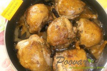 Куриные бёдрышки с черносливом и курагой Шаг 8 (картинка)