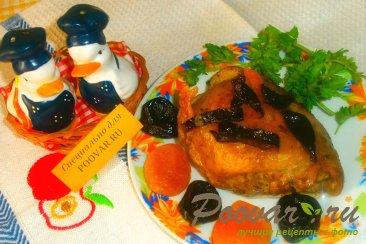 Куриные бёдрышки с черносливом и курагой Шаг 9 (картинка)